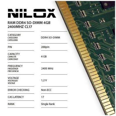 RAM DDR4 SO-DIMM 4GB 2400MHZ CL17
