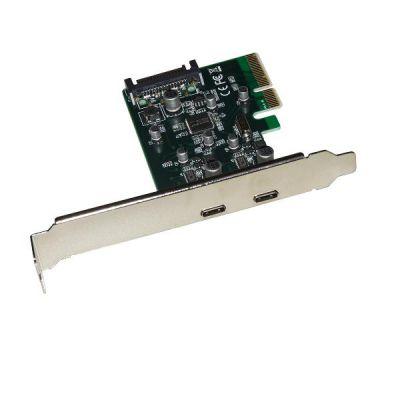 PCI EXPRESS 2USB-TYPE C STAFFA LOW