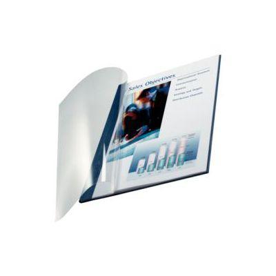 SC10 pzimpressBIND copertina flessibile fronte trasp. - f.to A4 dorso 10.5 mm (71-105 fogli)Blu