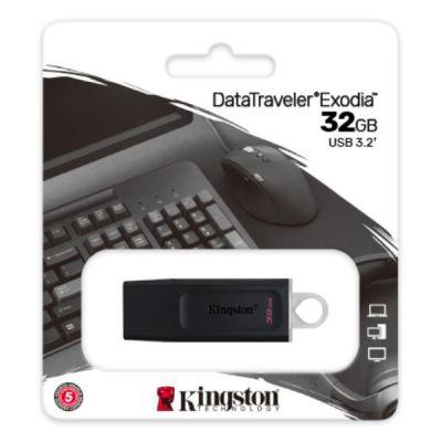 32GB USB3.2 GEN 1 DATATRAVELER EXODIA (BLACK + WHITE) + SIAE