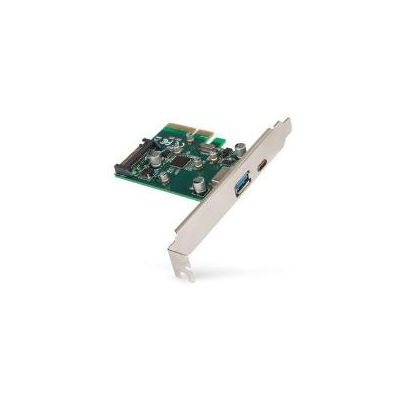SCHEDA PCIE LOW P USB 3.1 TYPE C   USB 3.1 TYPE A   HOST CARD BUS