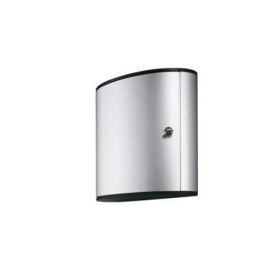 Cassetta Key box  54 portachiavi  colore silver  Dim. 302x400x118 mm  inclusa una borsa con 6 portachiavi in colori assortiti