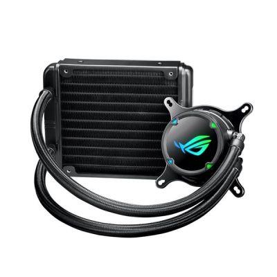 ROG STRIX LC 120 COOLER CPU ALL-IN-ONE ROG  CON ILLUMINAZIONE         ADDRESSABLE RGB, AURA SYNC, RIVESTIMENTO POMPA NCVM E VENTOLA DEL