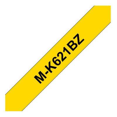 NASTRO TIPO M 9MM NERO/GIALLO LUNGHEZZA 8 METRI