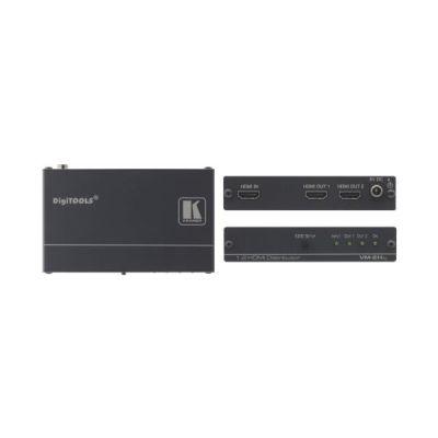 Distributore Amplificato HDMI - 1:2 Distributore HDMI con Reclocking & Equalizing HDCP