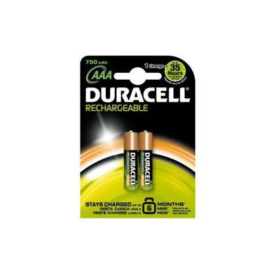 DURACELL VALUE STAY CHARGE AAA BLISTER 2 PILE