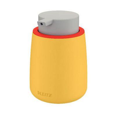 Cosy Dipenser per gel disinfettante giallo