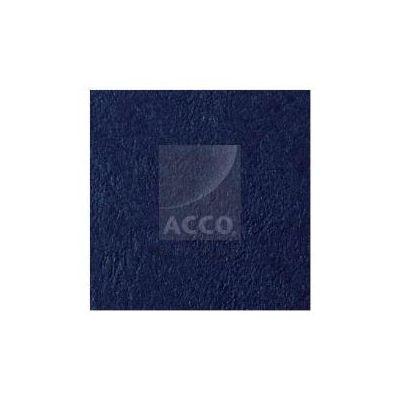Copertine Leathergrain f.to A4 - conf. 100 Blu royal