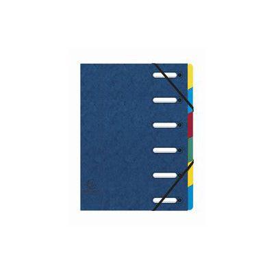 CLASSIFICATORI 6SCOMPART BLU