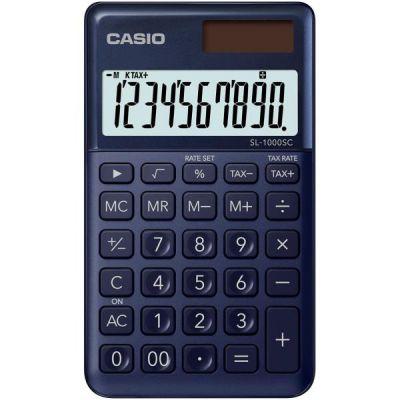 Calcolatrice tascabile CASIO SL-1000SC-NY BLU NAVY