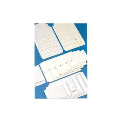 Buste a sacco bianche kraft  Monodex -Blasetti- con strip 23x33 80g/mq (conf.500)