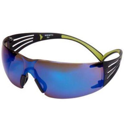 SecureFit SF408AS Occhiali di Protezione  lente blu specchiata in PC (AS)