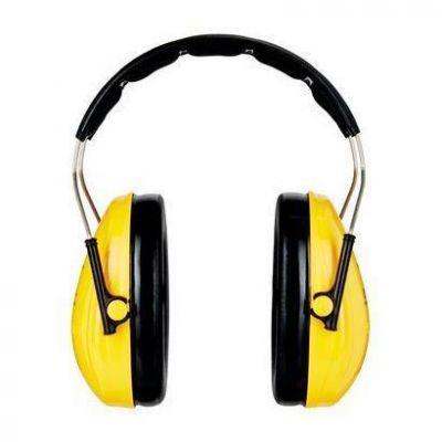 Cuffia auricolare gialla - abbattimento rumore SNR=27 dB