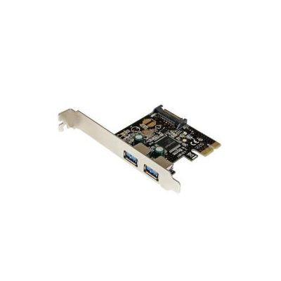 Scheda controller USB SuperSpeed 3.0 PCIe PCI Express a 2 porte con alimentazione SATA