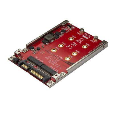 Adattatore per 2 Dischi SSD M.2 a SATA per alloggio da 2 5  - RAID - M.2 NGFF