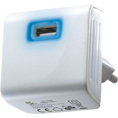 CARICATORE USB RETE 2400mA MWUSB3U-2 WHITE