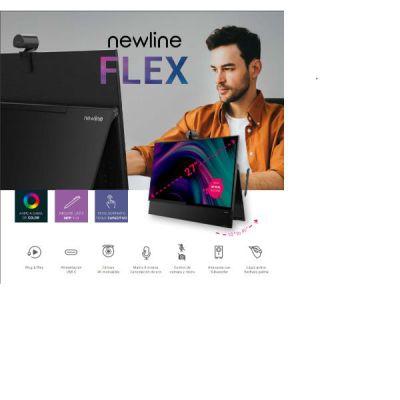 FLEX 27  Capacitive interactive 4K touch display  4K camera  2.1 / 20 watt sound system  8 microphone