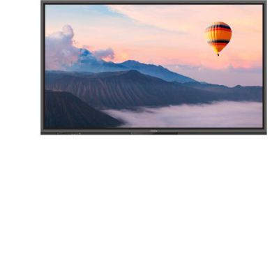 Touch panel 75   20 points multi-touch  4K  Blu Light Filter  4 x built in microphones  Usb type C  Android 8.0