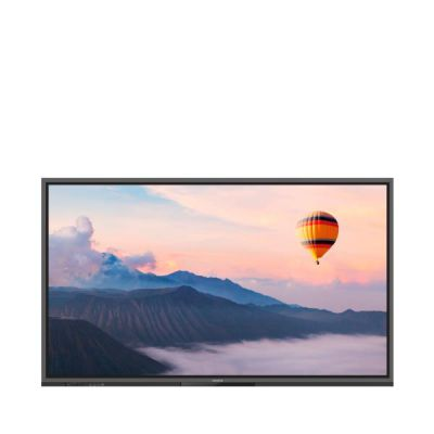 Touch panel 86   20 points multi-touch  4K  Blu Light Filter  4 x built in microphones  Usb type C  Android 8.0