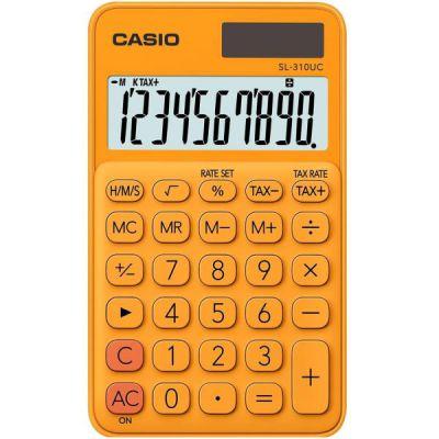 Calcolatrice tascabile CASIO SL-310UC-RG ARANCIONE