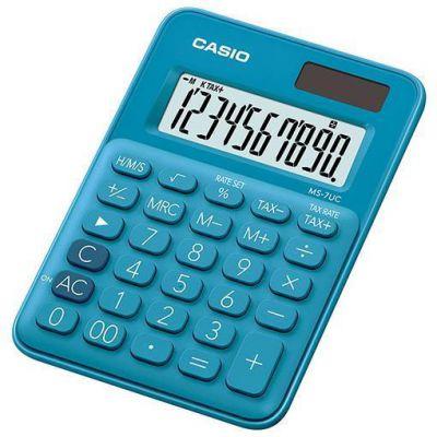 Calcolatrice tascabile CASIO MS-7UC-BU BLU