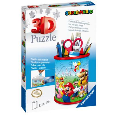 PUZZLE RAVENSBURGER Portapenne Super Mario - 3D