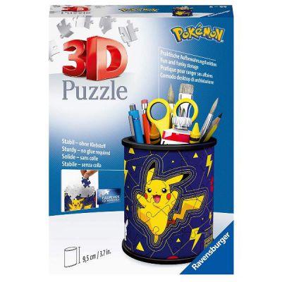 PUZZLE RAVENSBURGER Portapenne Pokemon - 3D