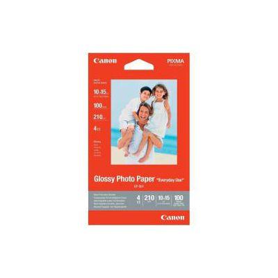 GP 501  GLOSSY PHOTO PAPER FORMATO 4 X 6  100 FOGLI 210G/M