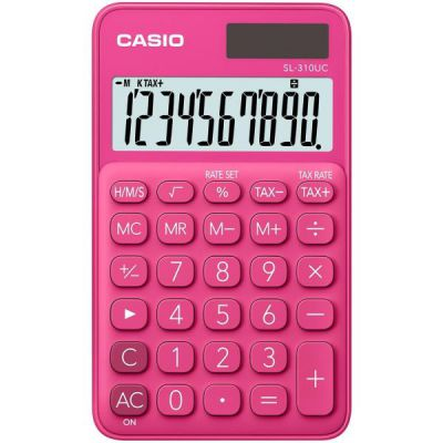 Calcolatrice tascabile CASIO SL-310UC-RD ROSSO
