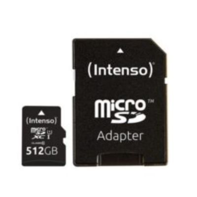 MICRO SD CON ADATTATORE 512GB UHS-I