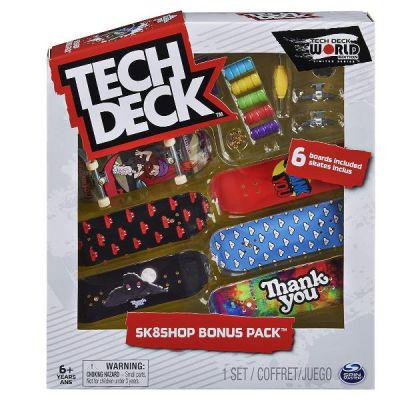 TECH DECK - BONUS - 6 skate ass.ti