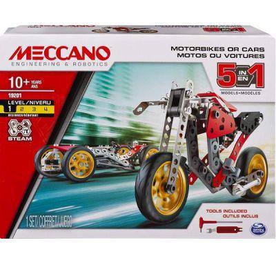 MECCANO MM - da 5 - Moto Corsa
