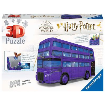 PUZZLE 3D RAVENSBURGER HARRY POTTER LONDON BUS 216PZ