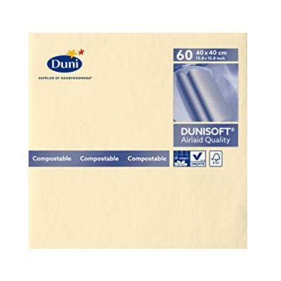 CF60 Tovaglioli Dunisoft 40x40 Crema