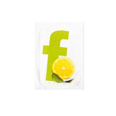 CF1000 Salviettine rinfrescanti limone 71x51 mm