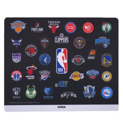 MOUSE PAD NBA BLACK TEAMS
