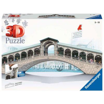 PUZZLE 3D RAVENSBURGER PONTE DI RIALTO 216PZ
