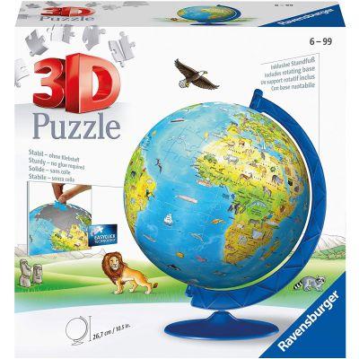 PUZZLE RAVENSBURGER 3D GLOBO 180 PEZZI