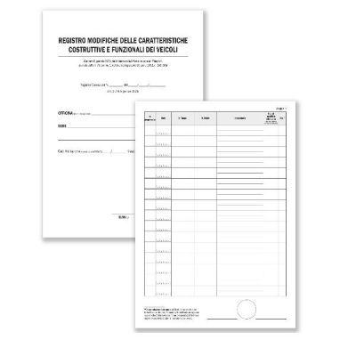 CF2 REGISTRO MODIFICHE CARATTERISTICHE COSTRUTTIVE E FUNZIONALI DEI   VEICOLI