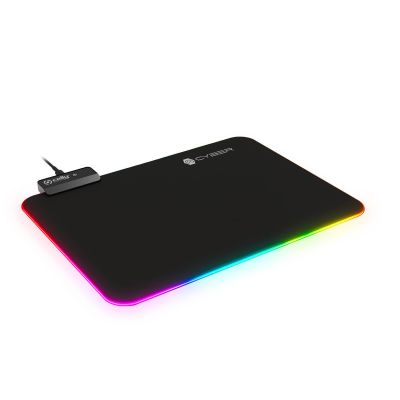 =>>GAMING MOUSEPAD RGB BK