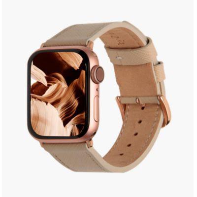 Cinturino per Apple Watch in pelle Madrid - 38/40mm - Beige