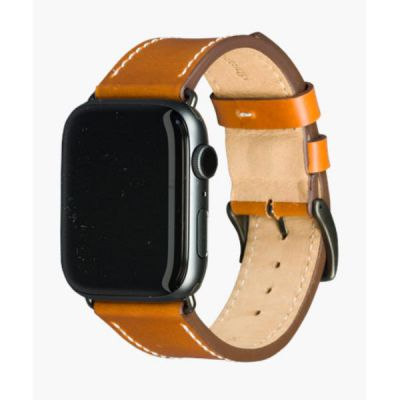 Cinturino per Apple Watch in Pelle Copenhagen - 44mm - Tan/Space