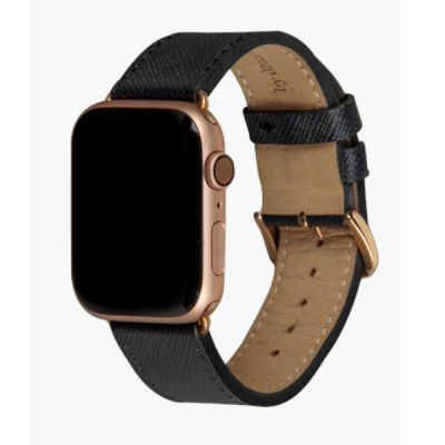Cinturino per Apple Watch in pelle Madrid - 38/40mm - Night Black