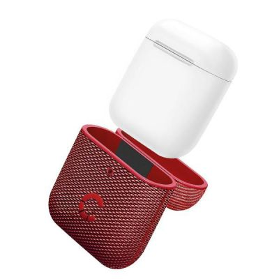 TekView Air Pods 1   2 case - Red/Red