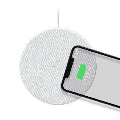 PowerBase II 10W Wireless Charger - White