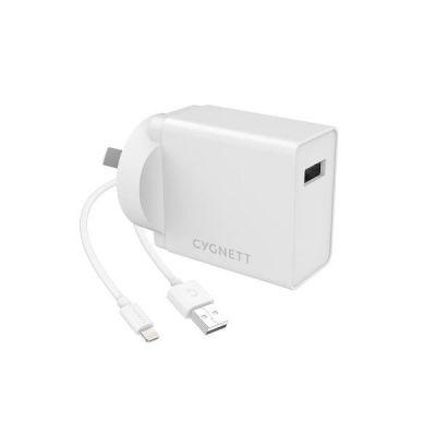 POWERPLUS 12W + LIGHTING TO USB A