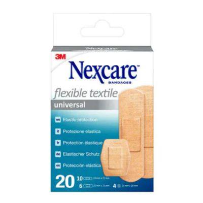 Cerotti 3M Nexcare  Textile N0420AS Assortiti 3 misureì