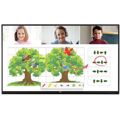 65 LED IPS 3840x2160 16:9 350nit 1200:1 9ms  178°/178° 16/7 Speaker 2x10W Wi-Fi 600x400 Landscape Note Airclass Screenshare