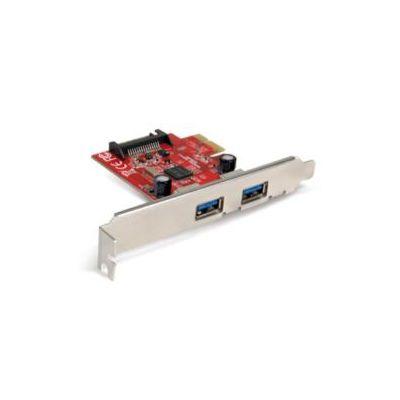 SCHEDA PCI EXPRESS 2 PORTE USB 3.0. TRANSFER RATE FINO A 5            GIGABIT/SEC. RETROCOMPATIBILE CON PERIFERICHE USB 2.0