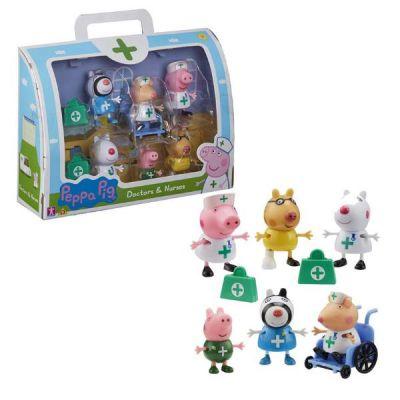 PEPPA PIG - SET 6 PERS. DOTT INF